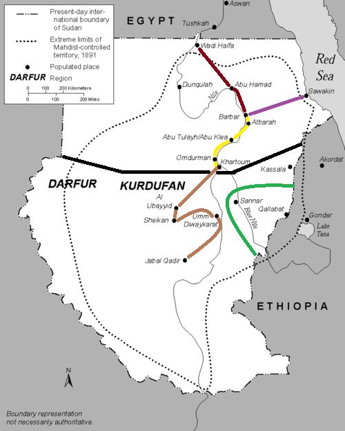 [Egypte & Royaume-Uni / rebelles soudanais] Guerre des mahdistes Soudan_3