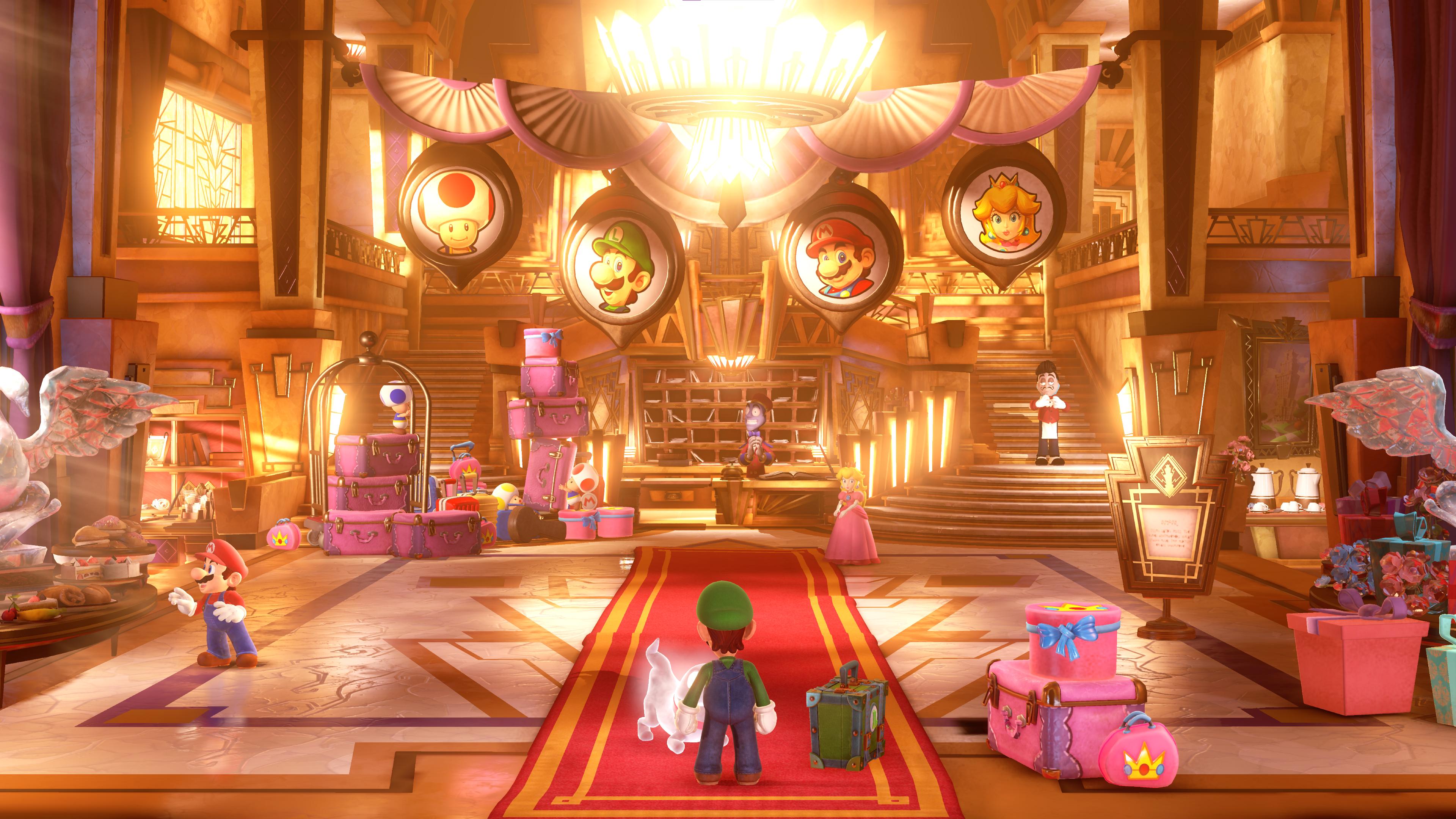 Luigi's Mansion 3 @ 4X