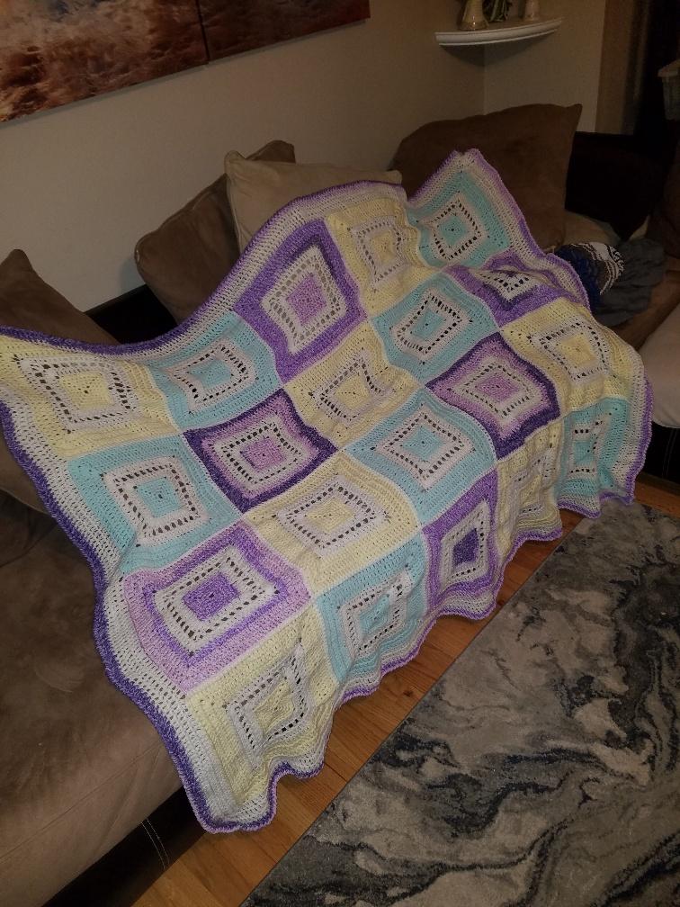 Reenie 01's Knitting Projects Blanket
