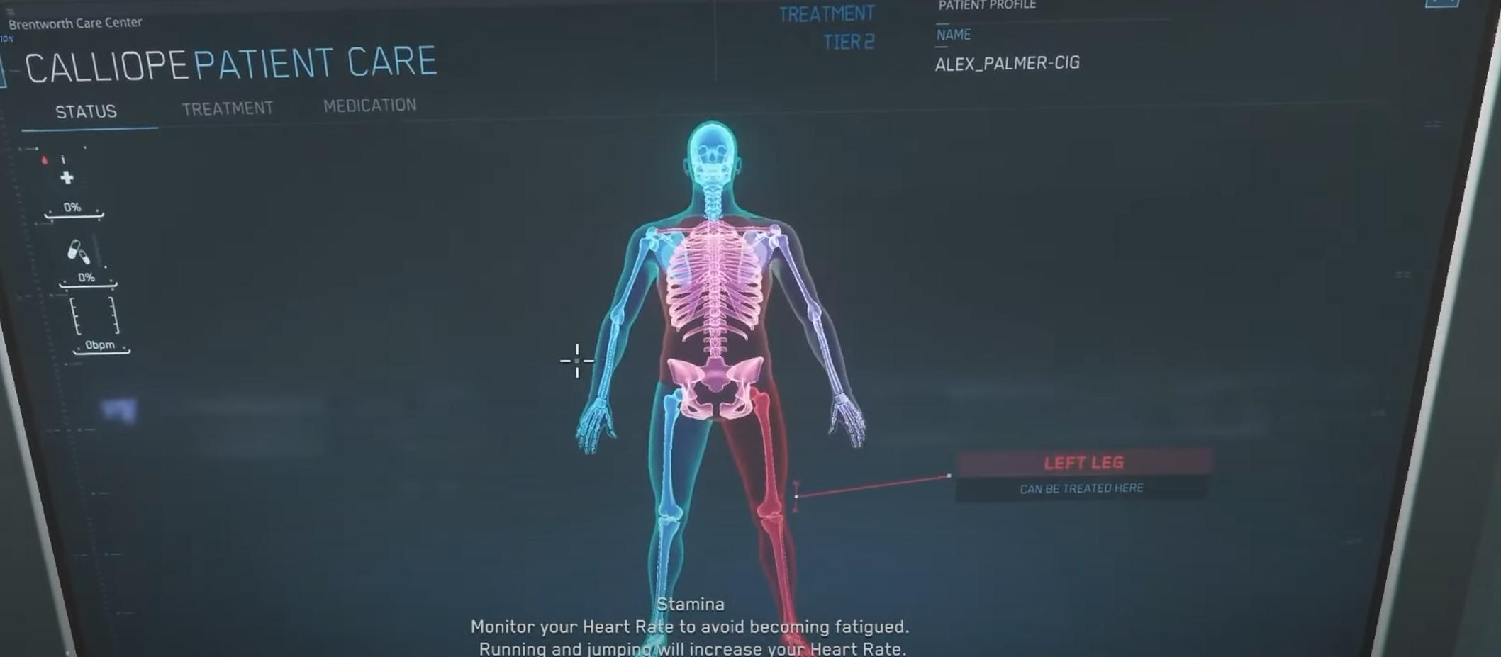 Profesión médica en Star Citizen   Healing Unknown