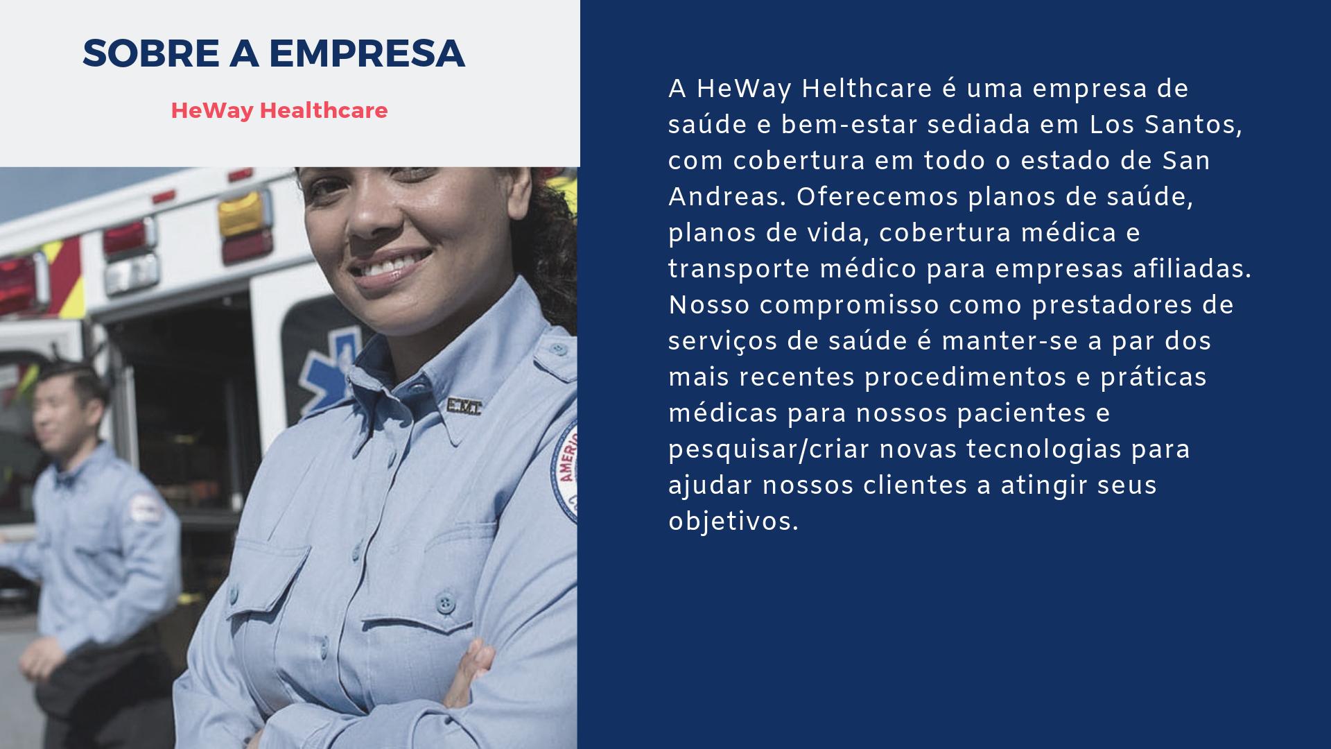 Sobre a HeWay Healthcare 2