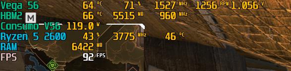 Bajadas de fps constantes en bastantes juegos.