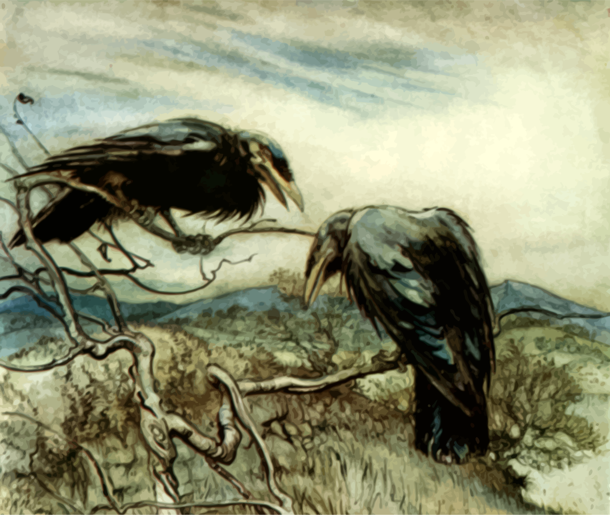 two-crows-illustration-vector-clipart.png