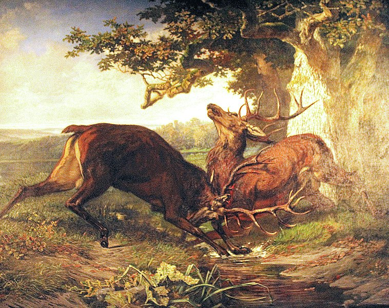 758px-Compiegne_Chateau_painting_of_deers.jpg