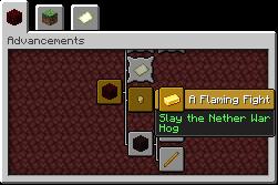 (Singleplayer) Nether War Hog (1.14-1.15) Minecraft Data Pack