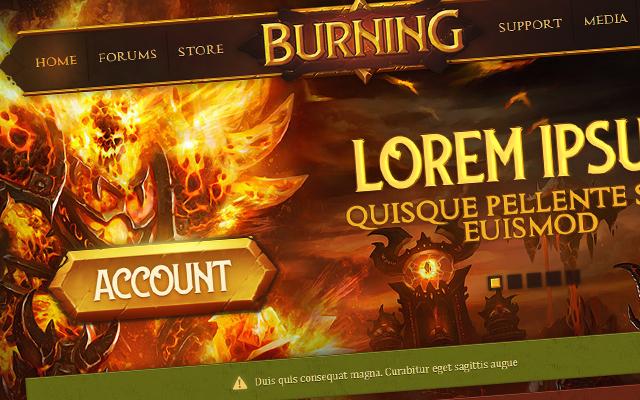 burning-theme-fusioncms-codepath