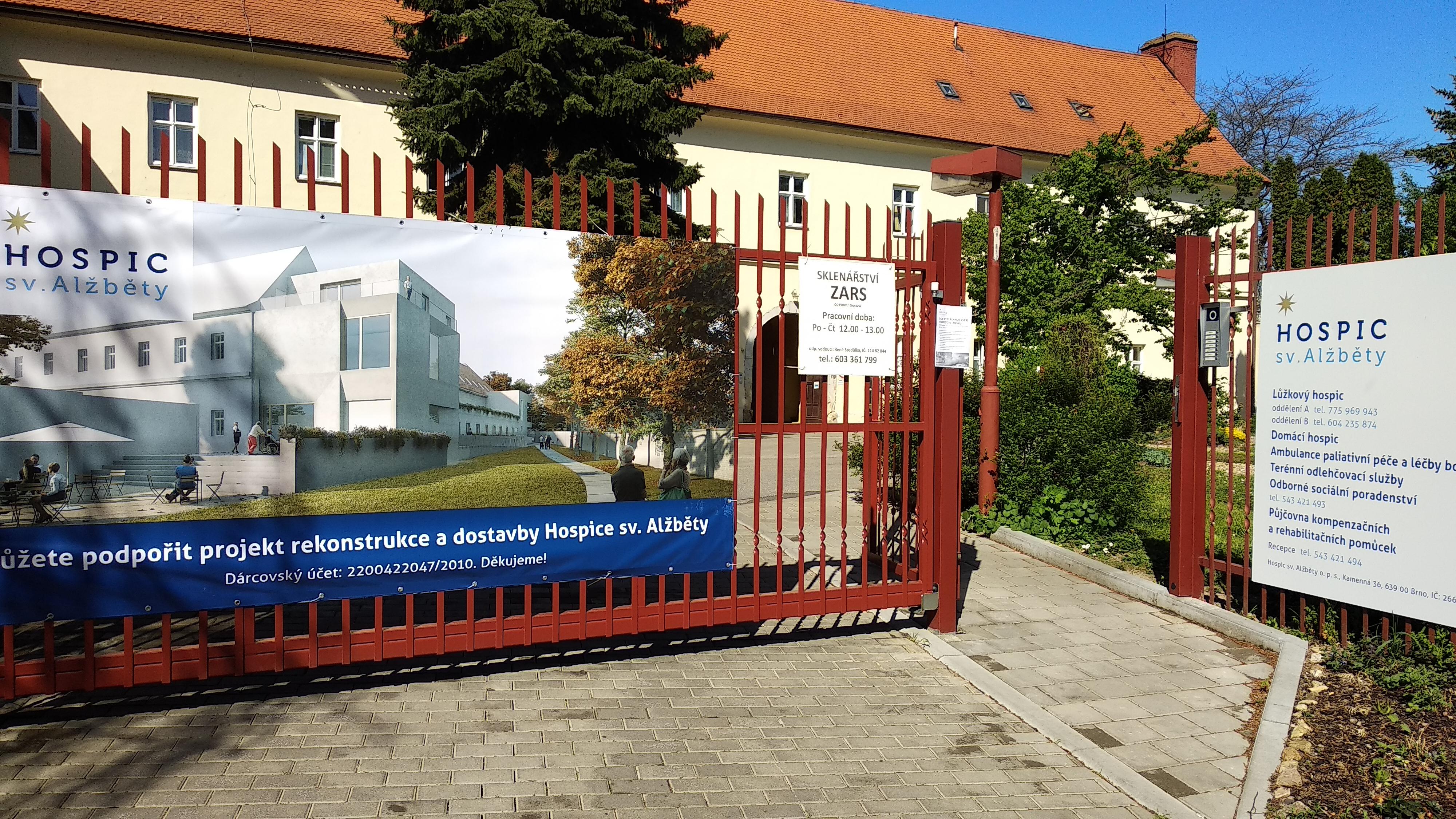 Hospic sv. Alžběty | foto: Kristýna Sklenářová