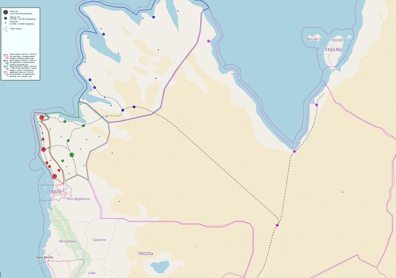 Gharbiyan map