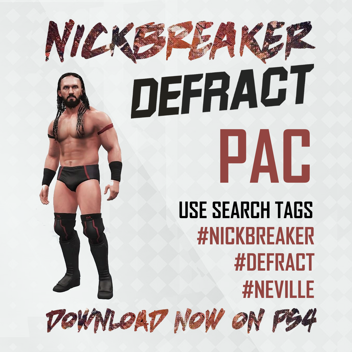 PAC.NEVILLE.DRAGON.GATE.NICKBREAKER.WWE.