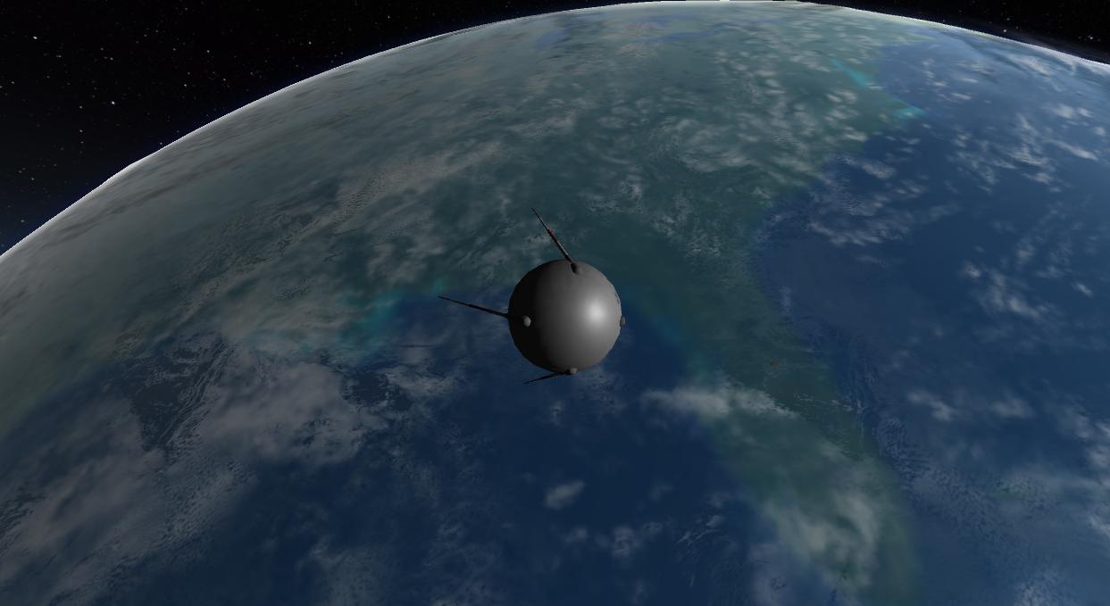 Sputnik over Florida