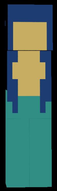 mermaidia Minecraft Skin