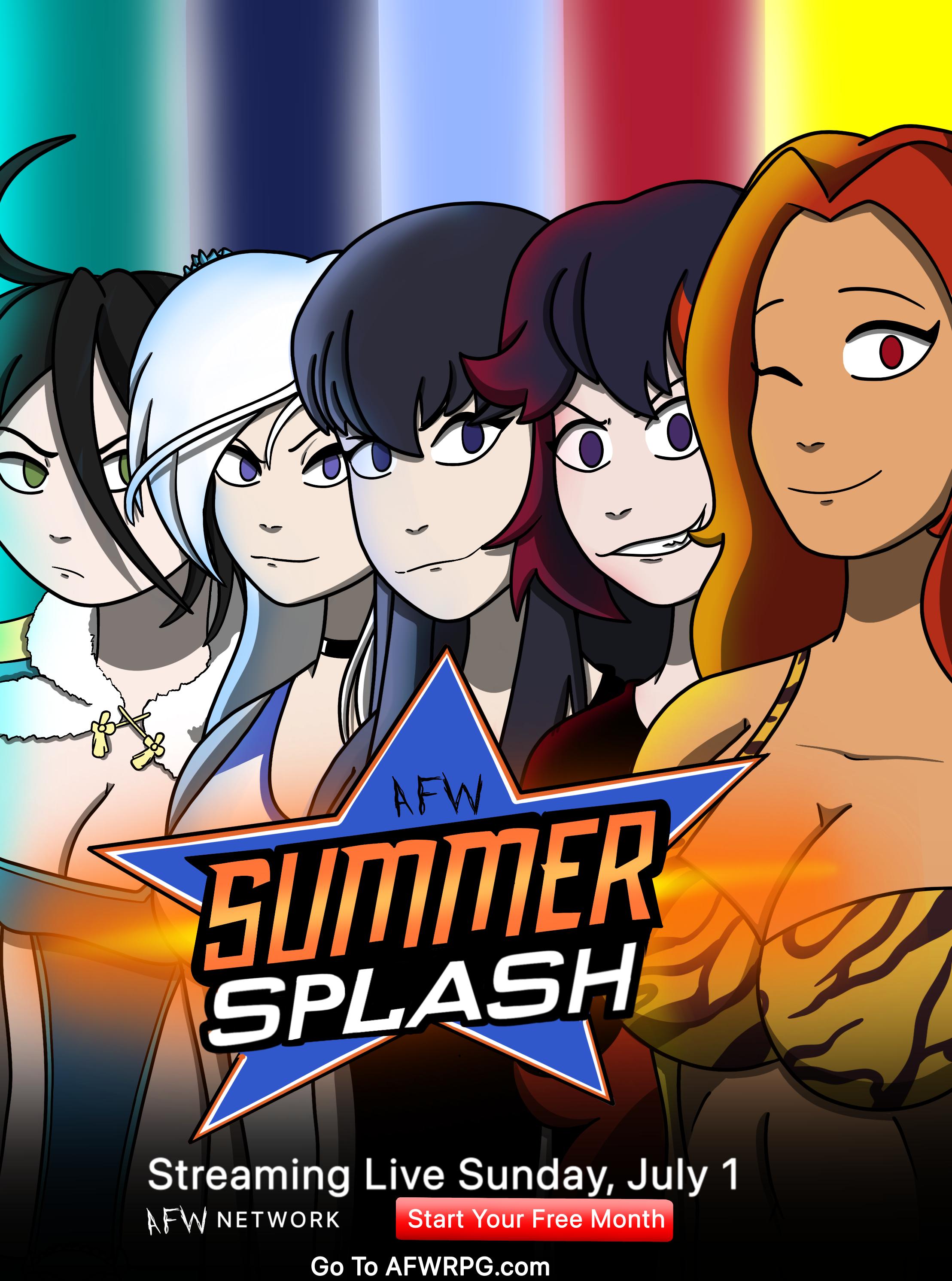 Summer Splash 2021 Fight Card Untitled_Artwork
