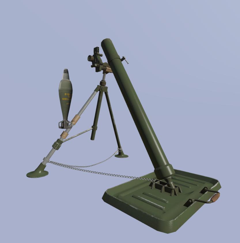 Reconstitution 3D sur l'Indochine Mortier81_1