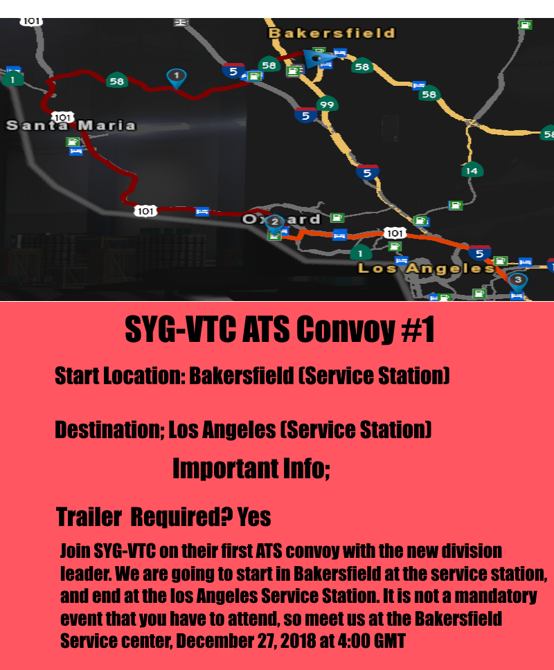 Convoy route image