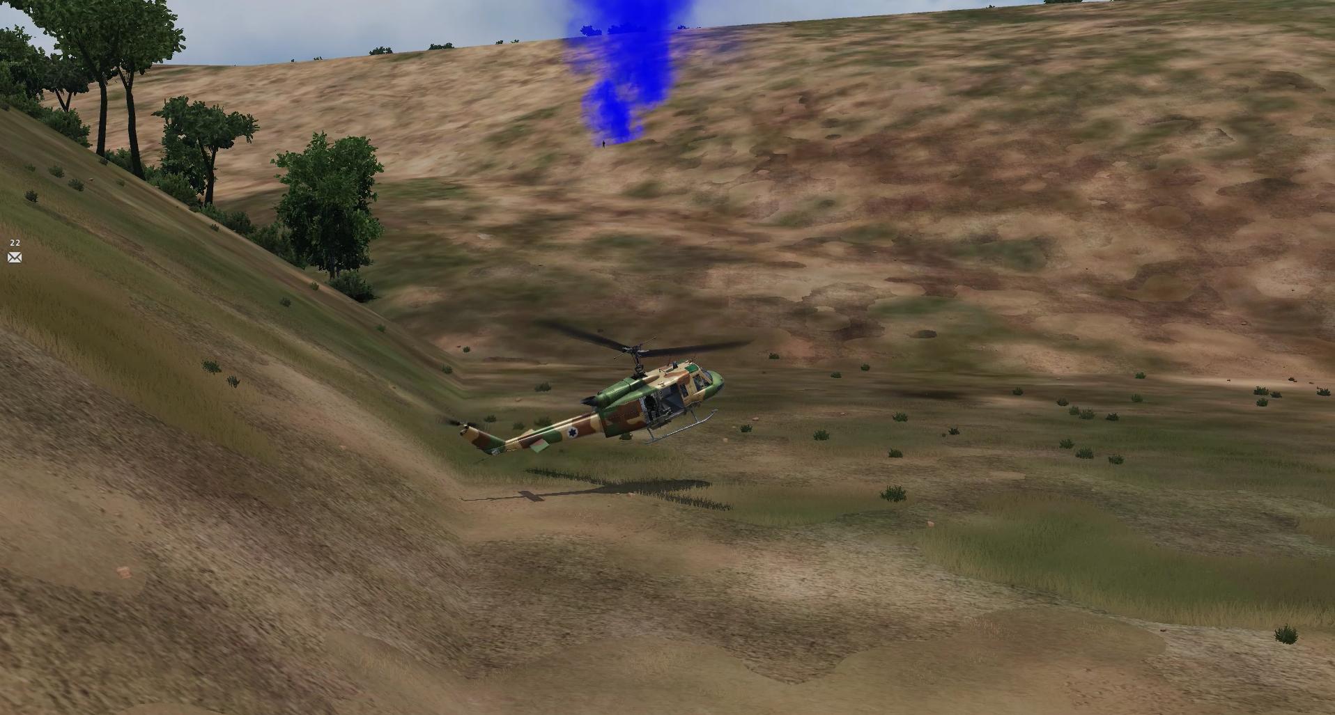 רגע עצוב למסוקים המסוק איבד כוח והסתחרר עד להתרסקות מול הטייס ההמום