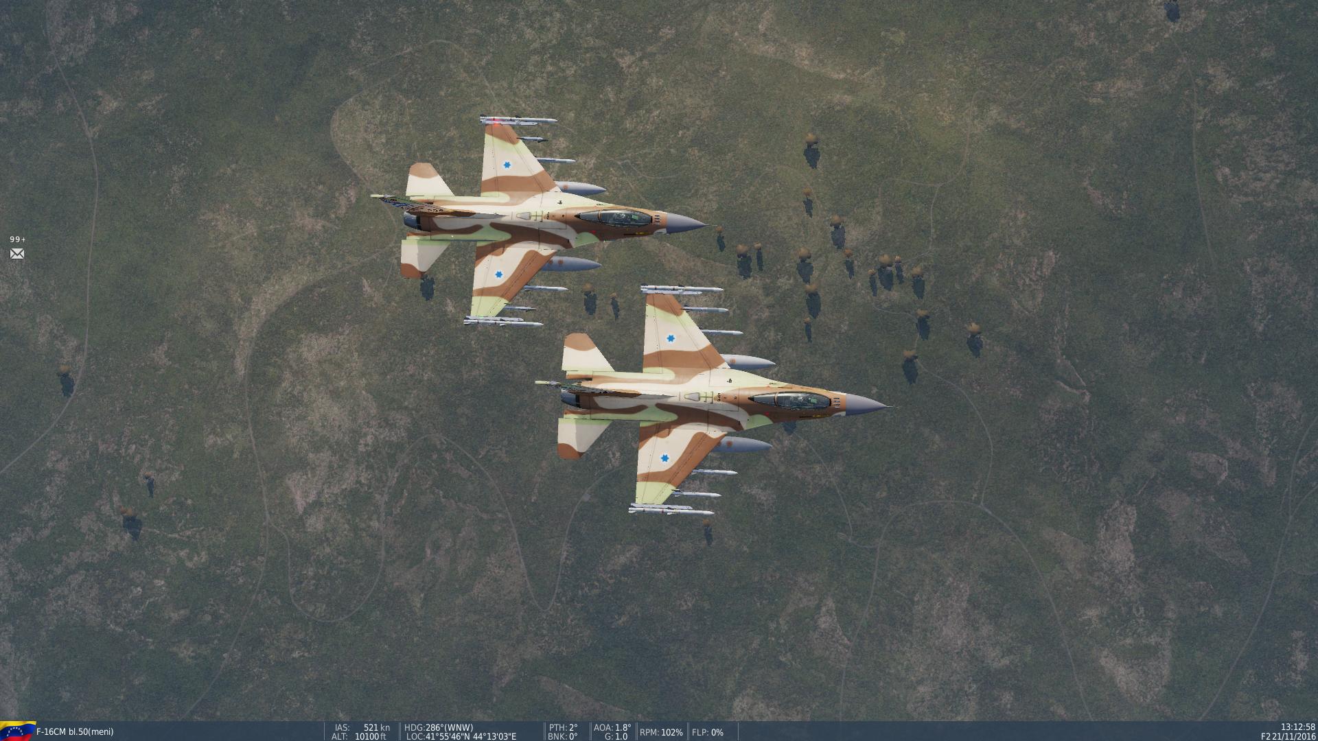 טיסת מבנה עם אחד הטייסים הכי מוכשרים שהכרתי אי פעם בDCS
