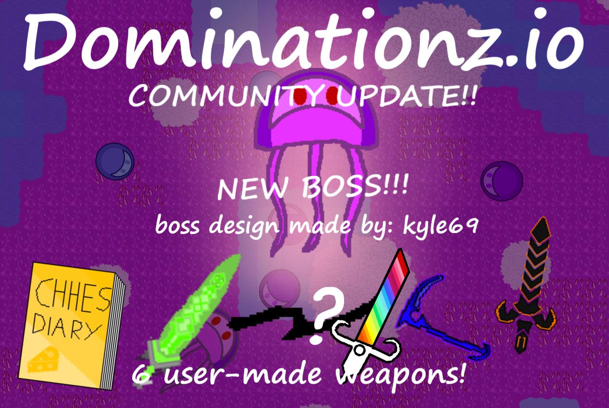 Dominationz.io NEW BOSS!!