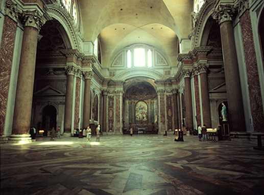 Vnitřní prostory paláce