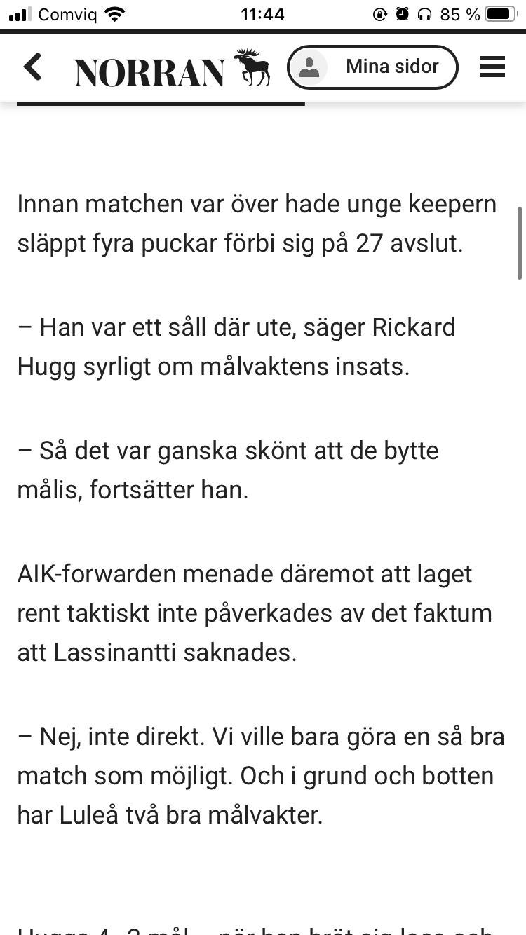 2021-04-20, SM-kvartsfinal 7, Skellefteå - Luleå Image0