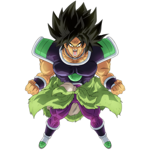 Broly Powered Up Enraged
