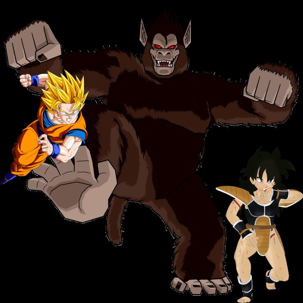 Saiyan, Super Saiyan and Great Ape