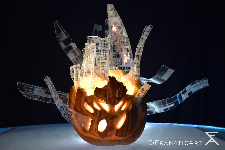 Sanctified Mind Pumpkin Carving #FOTLArtShow