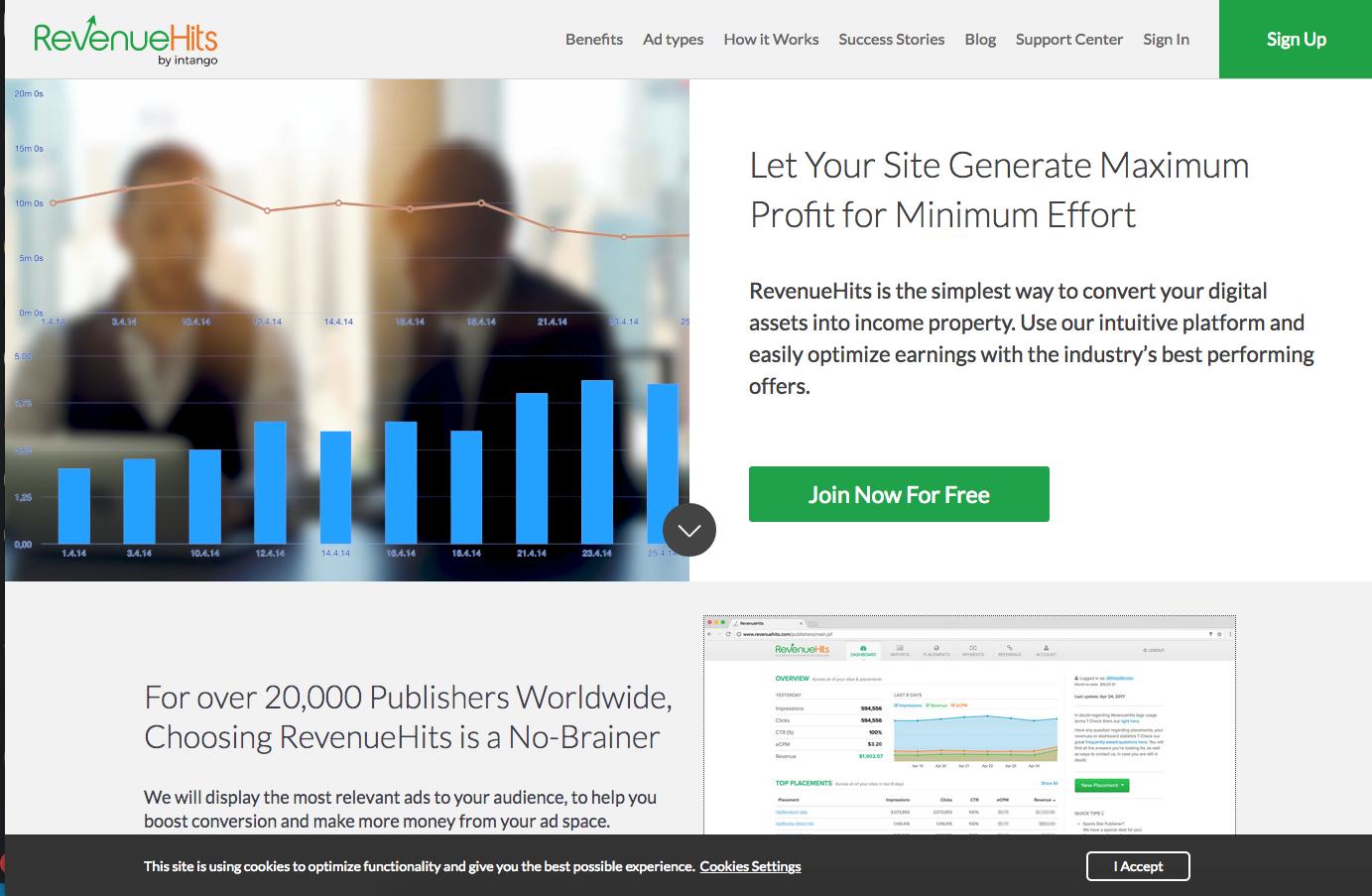 Captura de pantalla 2019 11 19 a las 22.31.44 | Organización FxZ | RevenueHits - Monetizar una web en 2019