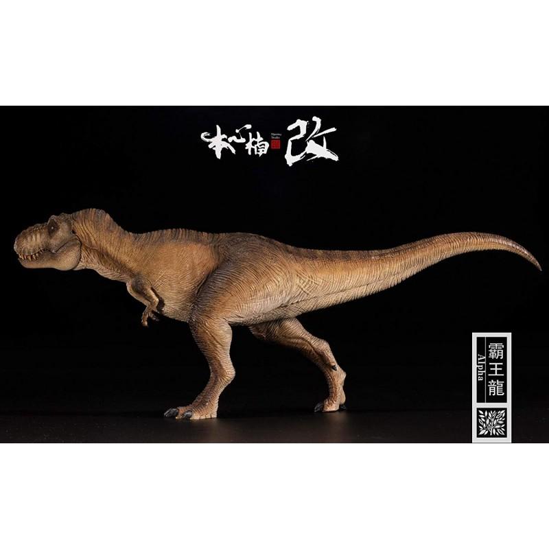 nanmu-studio-tyrannosaurus-rex-135-scale-dinosaur-figure-brown.png