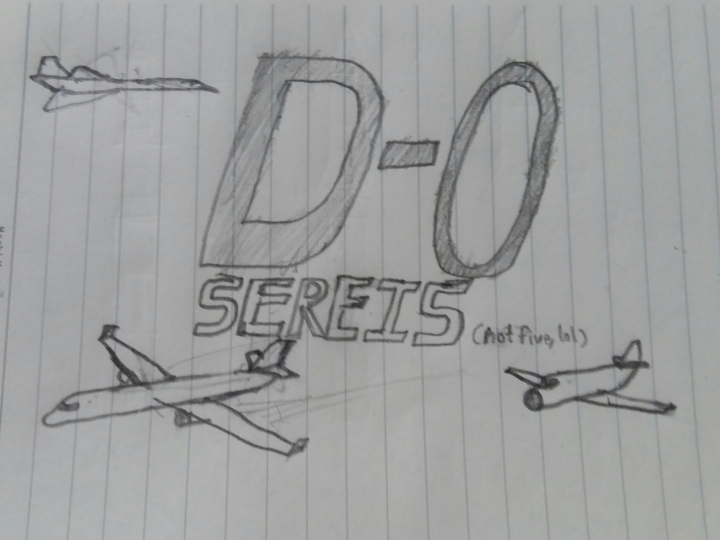 D-0 Series logo and D-0 Series planes