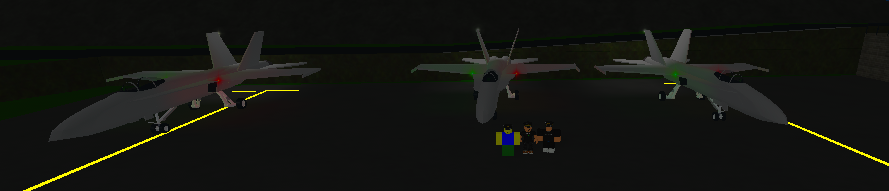 Hornet gang and their F/A-18