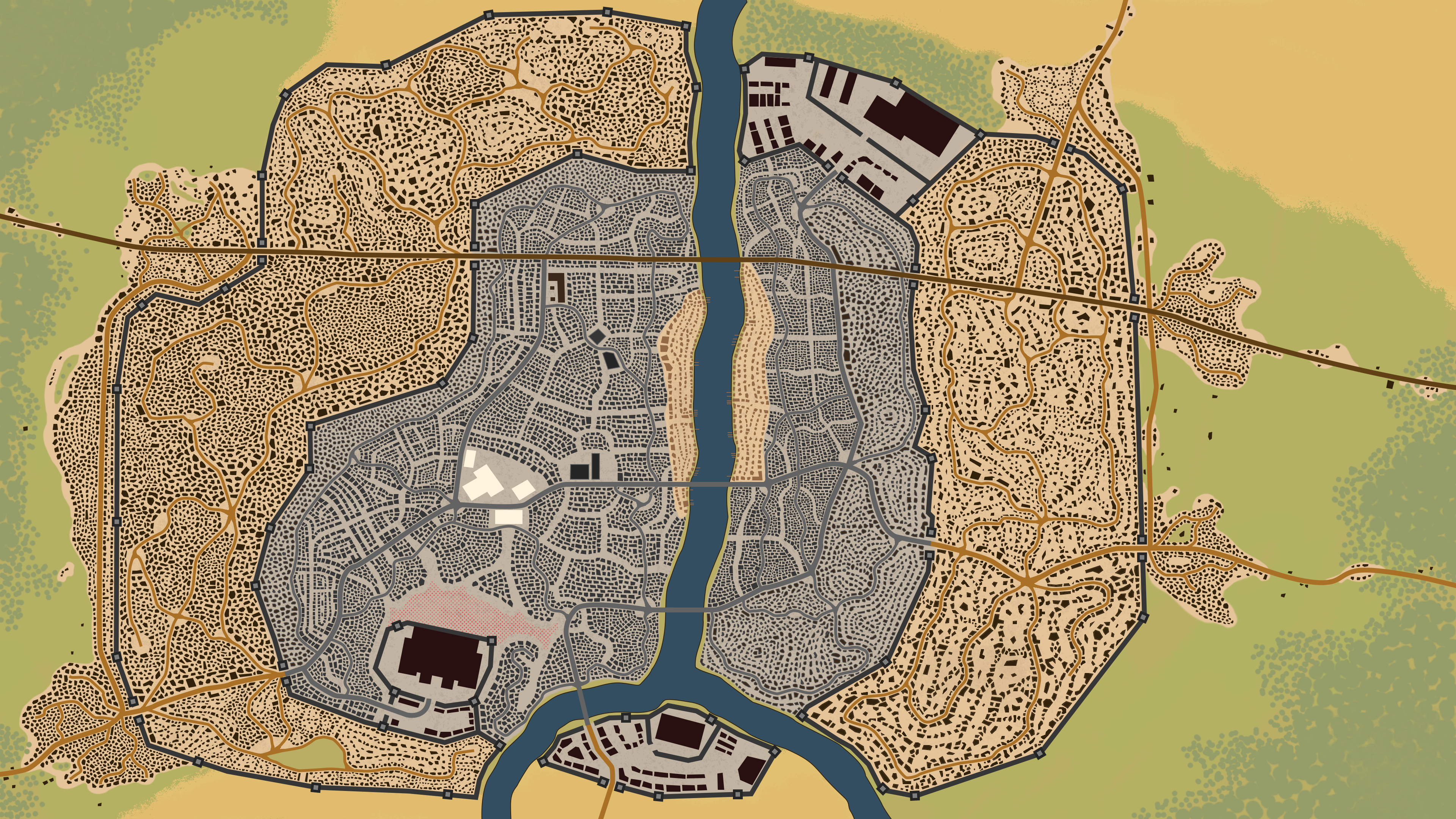 City of Rosewood 1220 Medieval Discord