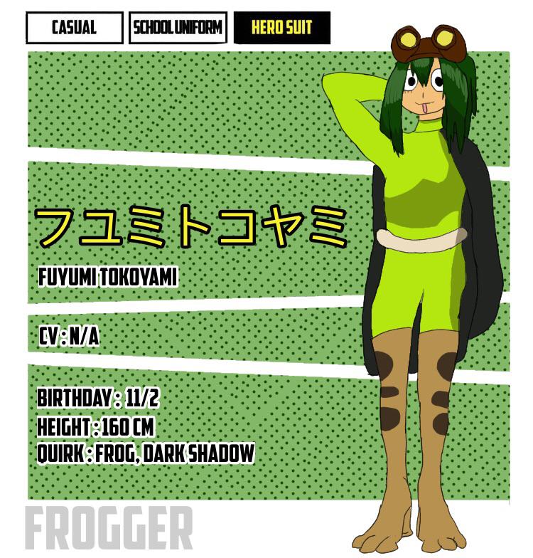 Character Pages #2: Fuyumi Tokoyami