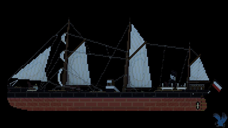 SS Glückauf (1886) | Full Interior | Download Minecraft Map
