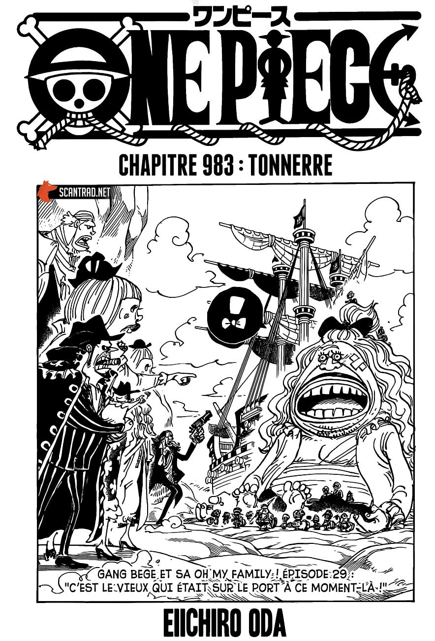 One Piece Manga 983 [Francés] 01