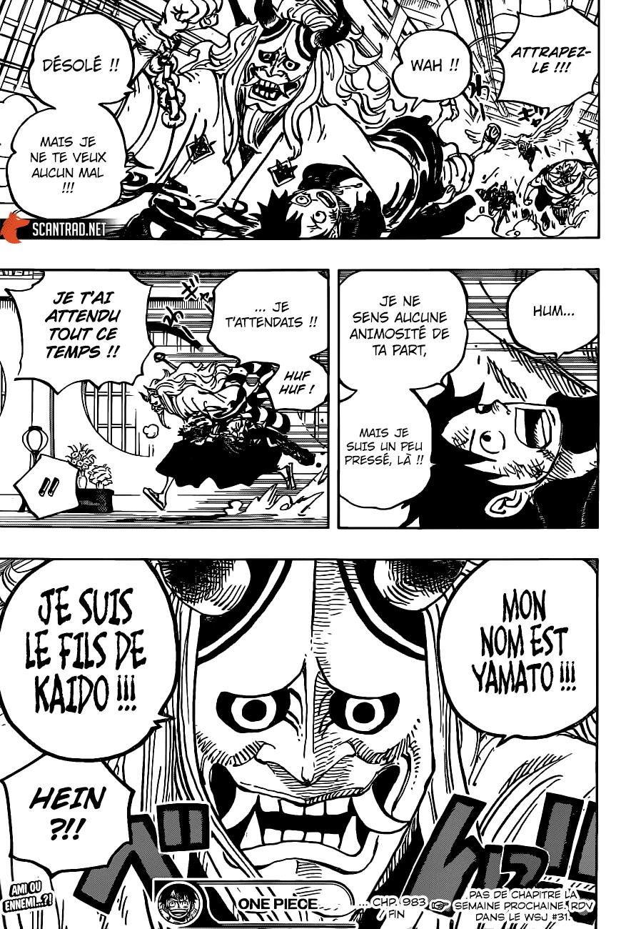 One Piece Manga 983 [Francés] 17