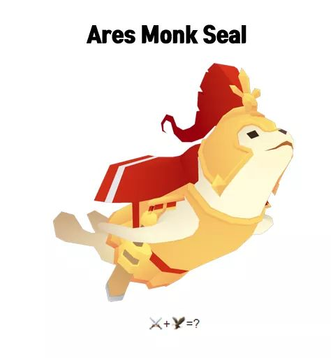 Ares Monk Seal