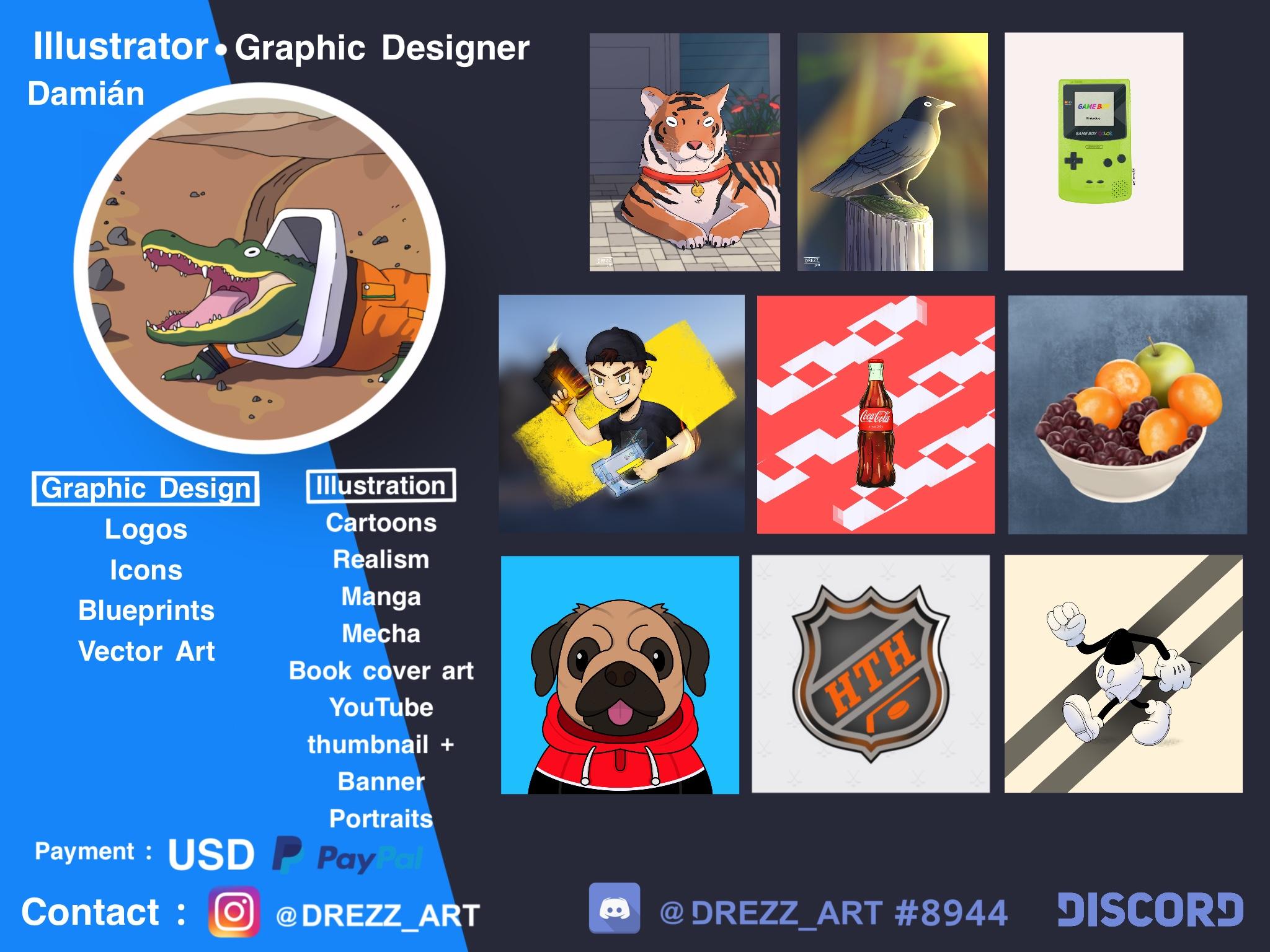 [Discord-Artist]: Drezz_Art#8944