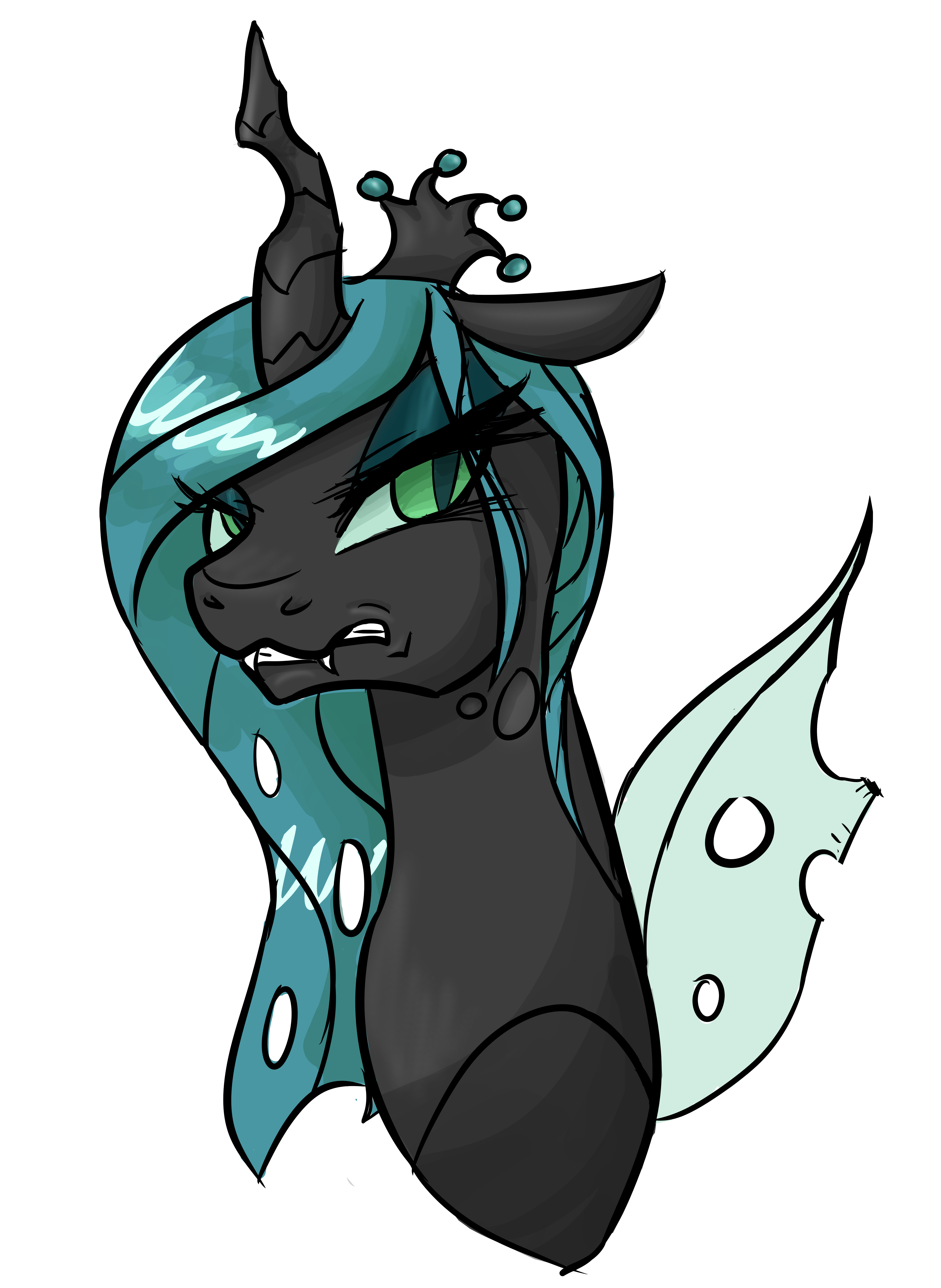 1195259__safe_solo_queenchrysalis_bust_a