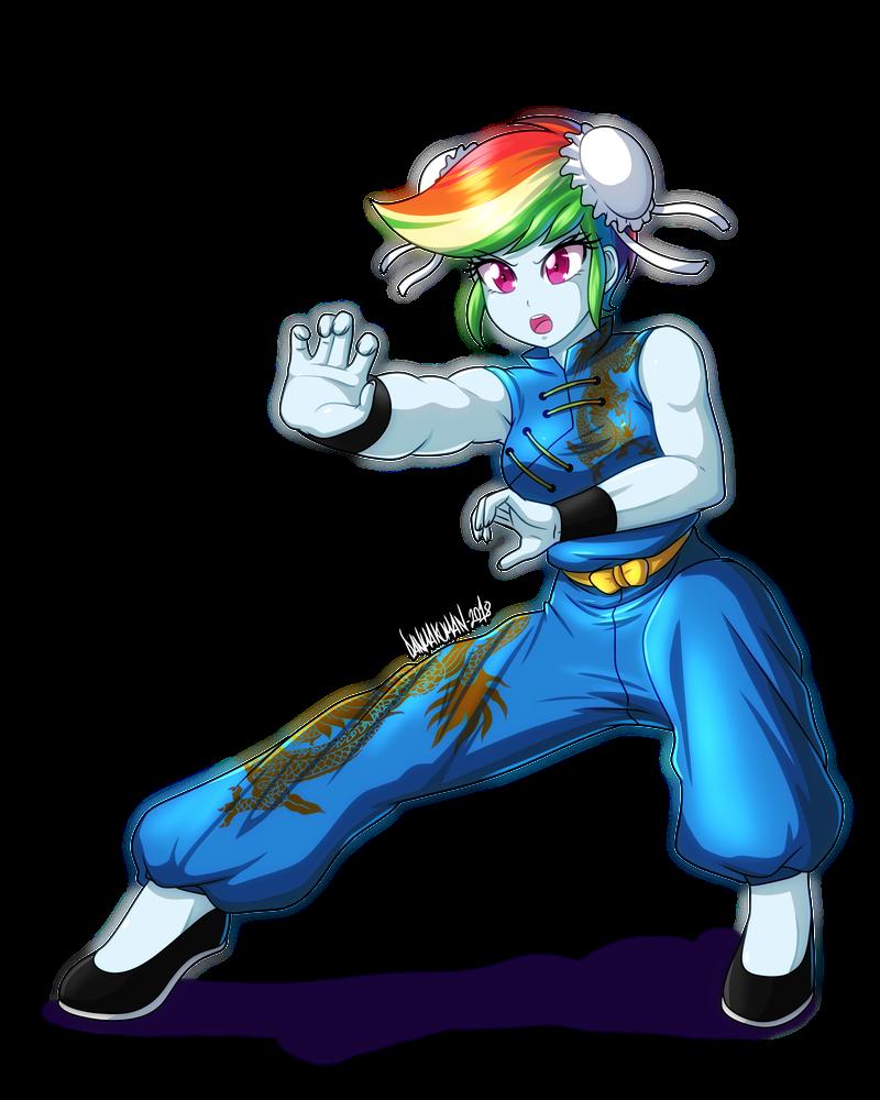 commission__rainbow_kung_fu_by_danmakuma