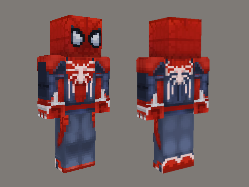 Spiderman PS4 - Advanced Suit Skin (HD)