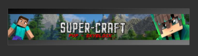 Serveur Minecraft SuperCraft - Multi-Serveurs