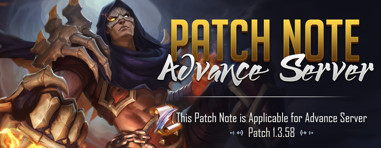 patch note 1.3.58