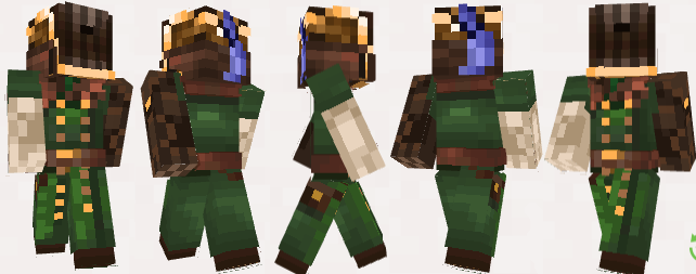 A skin done for a dieslpunk/military fantasy paid commission .
