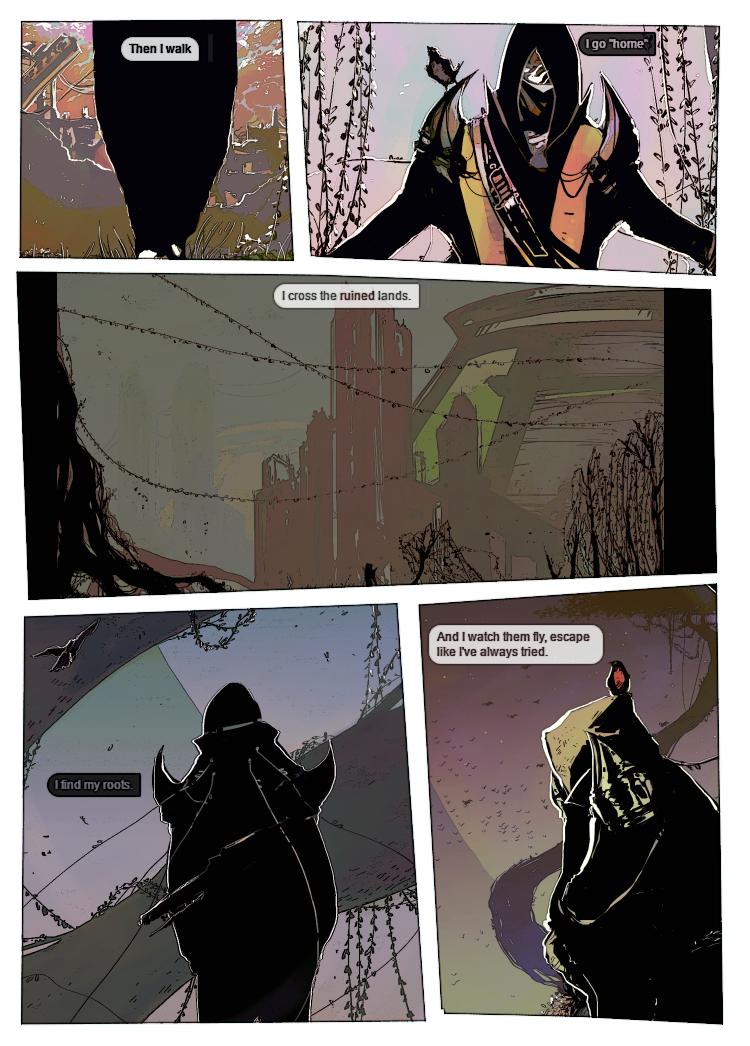 Destiny Short Comic - Sly 1-3