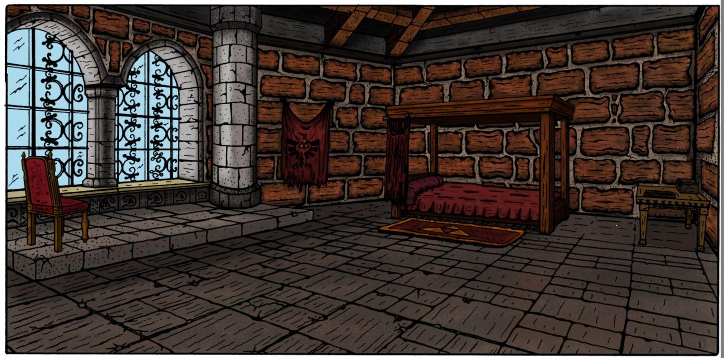 La chambre de Zelda