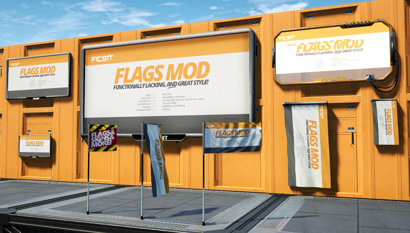 FLAGS Mod