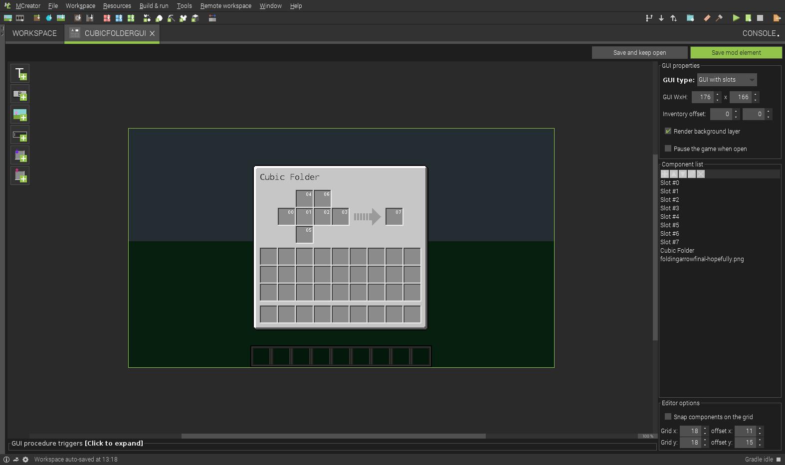 Cubic Folder GUI