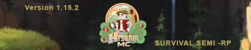 Serveur Minecraft Hyseria