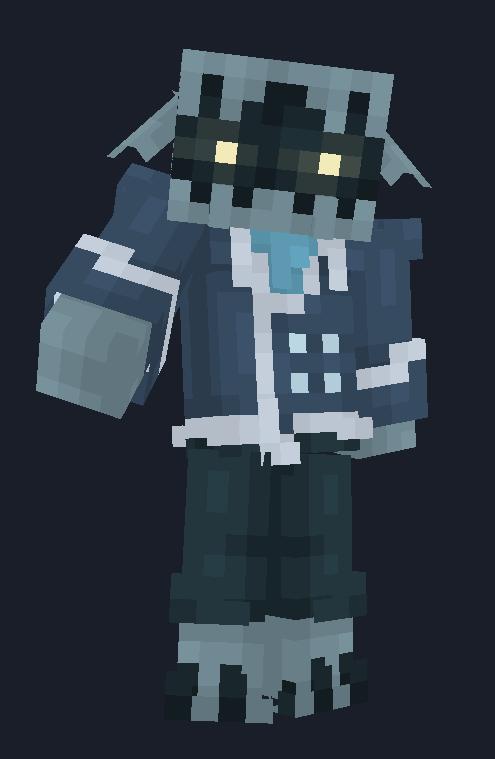 Soul Seller [Pointy Ear Club] Minecraft Mob Skin