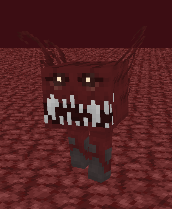 Lovely Lava Monster | Nether Nightmare Contest Minecraft Mob Skin